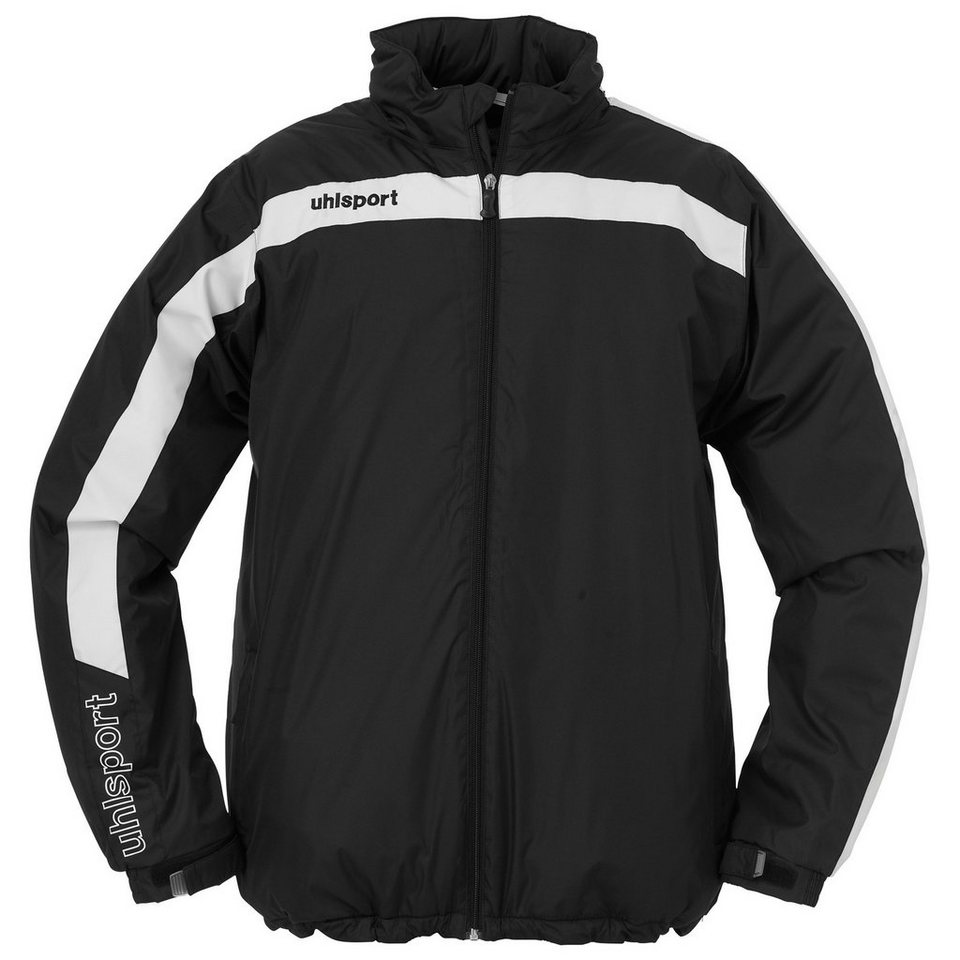 UHLSPORT Liga Coachjacke Kinder in schwarz / weiß