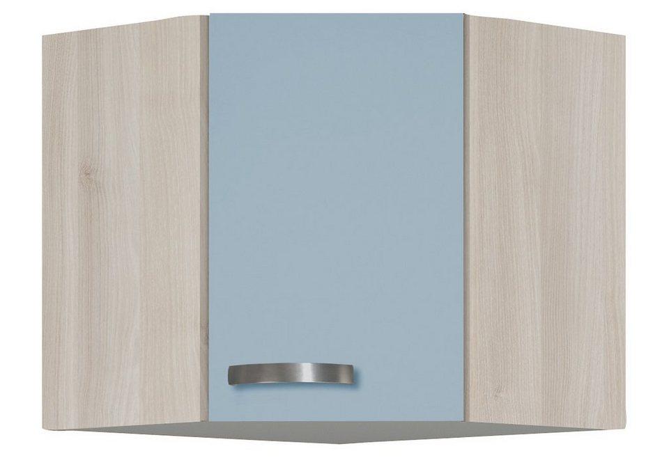 Optifit Eck-Hängeschrank »Skagen«, Breite 60 x 60 cm in blau