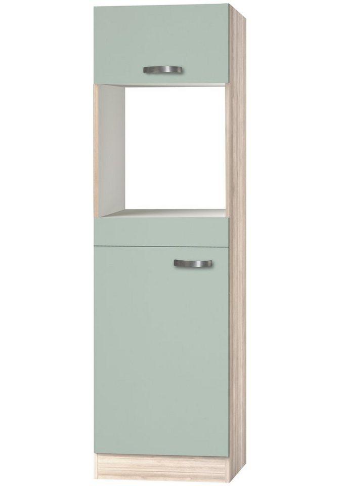 Kombinierter Backofen-Kühlumbauschrank »Skagen«, Höhe 206,8 cm in grün