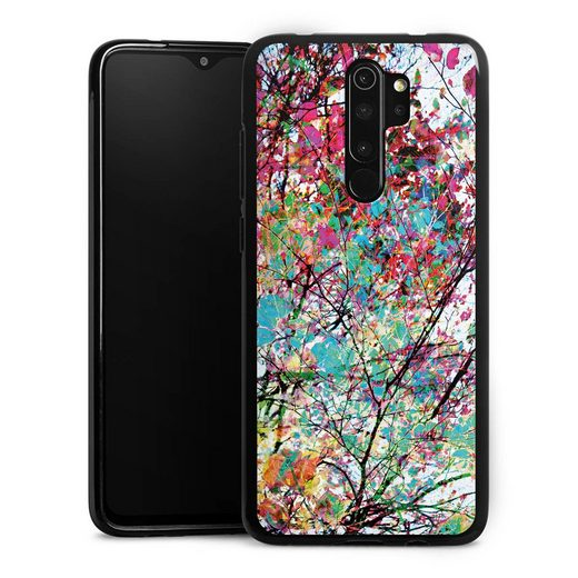 DeinDesign Handyhülle »Autumn8« Xiaomi Redmi Note 8 Pro, Hülle Malerei Blätter Kunst