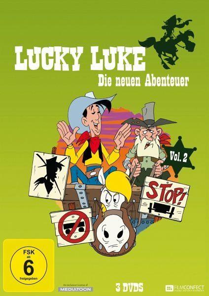 DVD »Lucky Luke - Die neuen Abenteuer, Vol. 2 (3...«