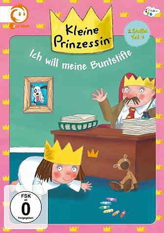 DVD »Kleine Prinzessin - Ich will meine Buntstifte«