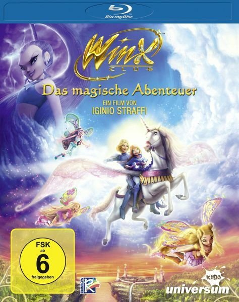 Blu-ray »Winx Club - Das magische Abenteuer«