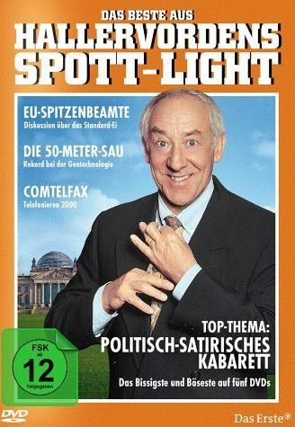 DVD »Das Beste aus Hallervordens Spott-Light (5 Discs)«