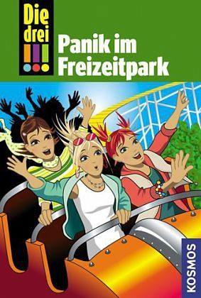 Gebundenes Buch »Panik im Freizeitpark / Die drei...«