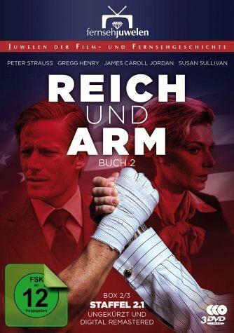 DVD »Reich und arm - Buch 2, Staffel 2.1 (3 Discs)«