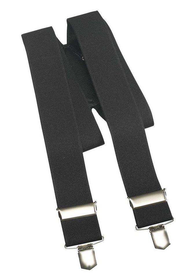 Pionier ® workwear Hosenträger uni in schwarz