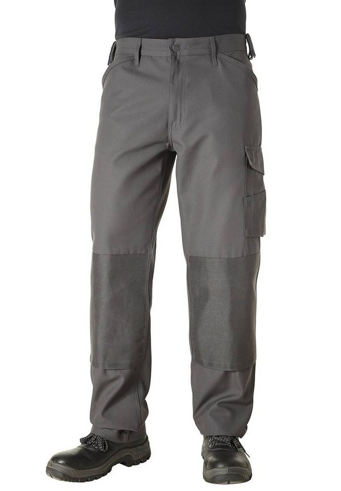 Pionier ® workwear Arbeitshose Canvas-Cordura® in grau