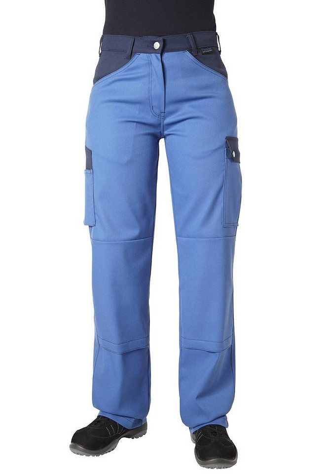 Pionier ® workwear 5-Pocket-Damenhose Top Comfort Stretch in royal/marine