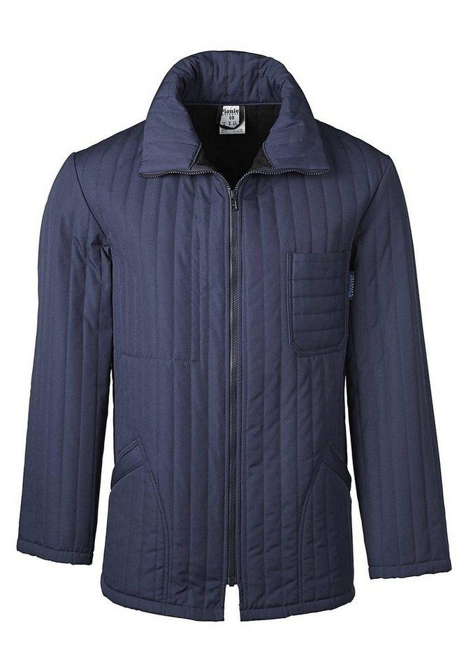 Pionier ® workwear gesteppte Thermo-Jacke Winter in marine