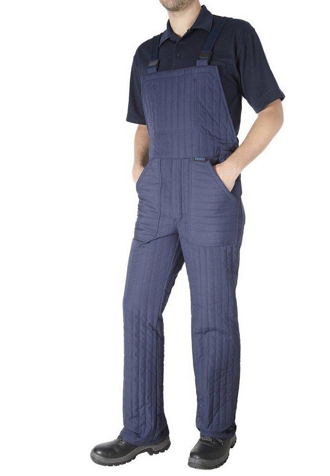 Pionier ® workwear Thermo-Latzhose Winter in marine