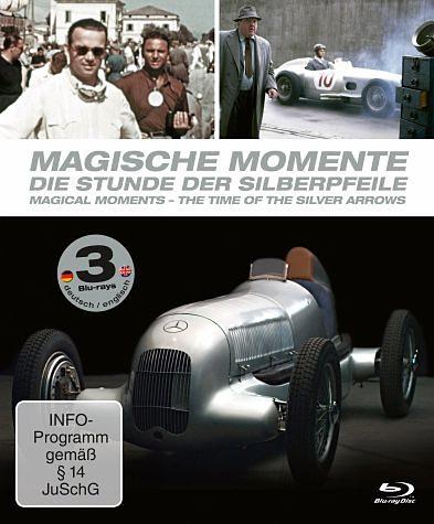 Blu-ray »Magische Momente - Die Stunde der Silberpfeile...«