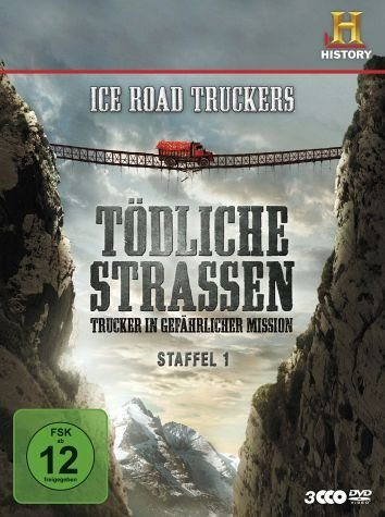 DVD »Ice Road Truckers - Tödliche Straßen: Trucker...«