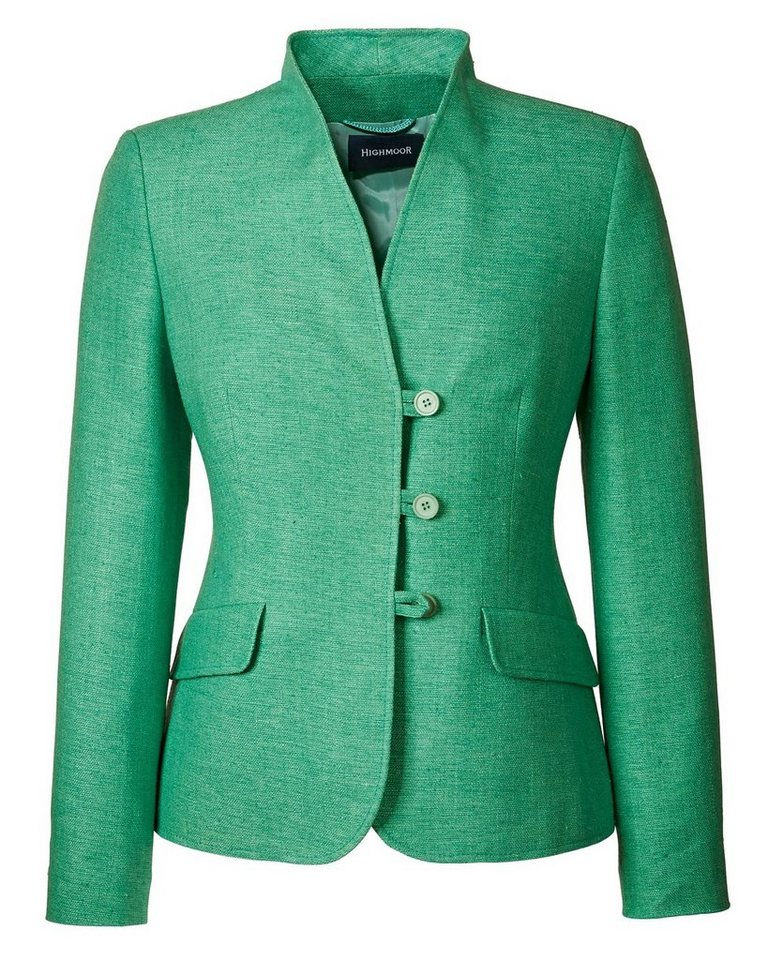 Highmoor Seidenjacke in Mint