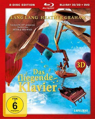 Blu-ray »Das fliegende Klavier (Blu-ray 3D, + DVD)«