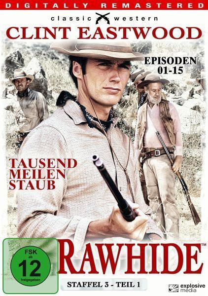 DVD »Rawhide - Tausend Meilen Staub, Staffel 3,...«