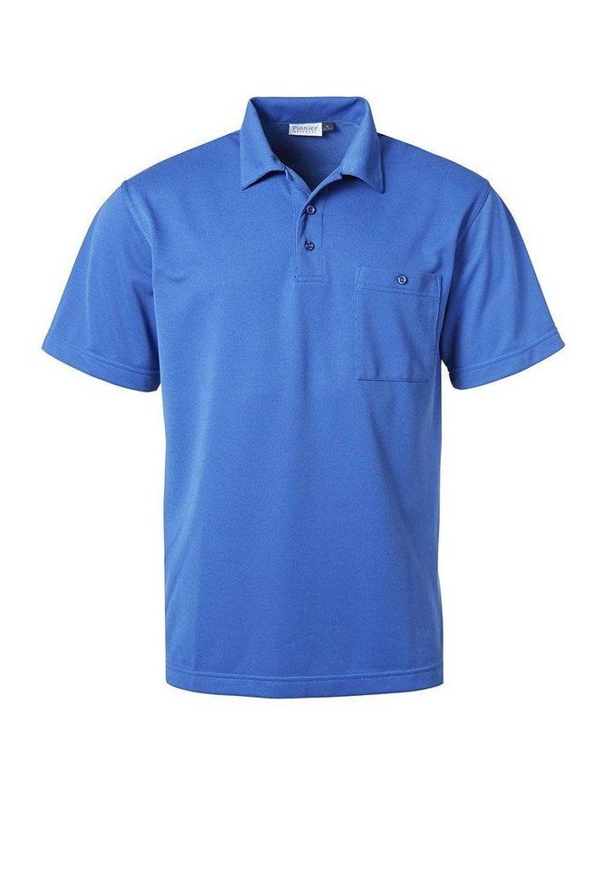 Pionier ® workwear Funktions-Poloshirt Natura in kornblau