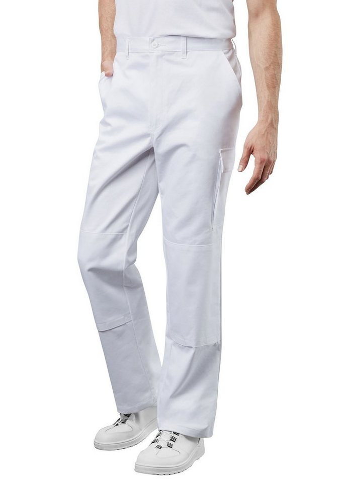 Pionier ® workwear Bundhose Cotton Pure in weiss
