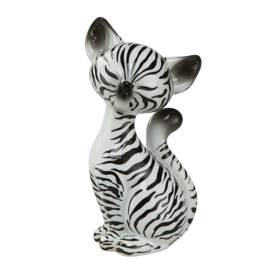 Goebel Zebra Kitty »Kitty de luxe« in Weiß, Schwarz
