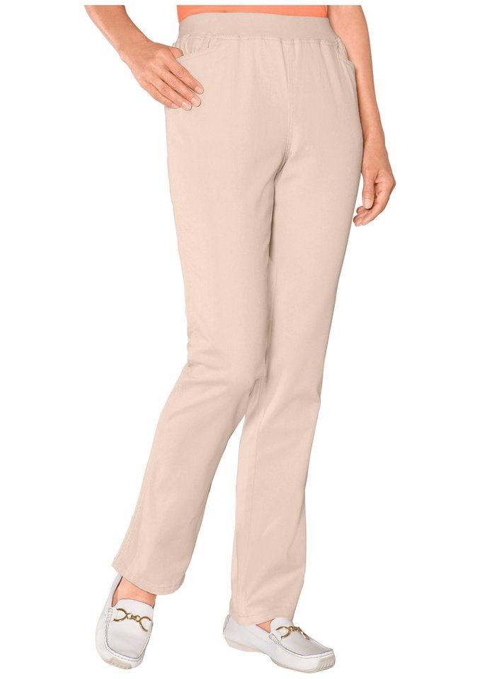 Classic Basics Hose mit hohem Tragekomfort in sand