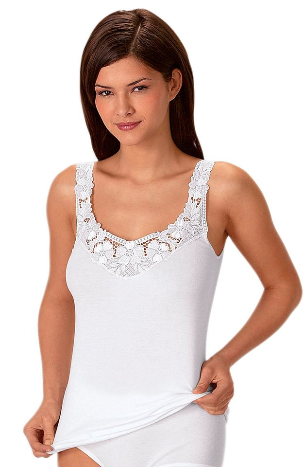 Hemd, Rosalie (2 Stck.) in weiß + eisblau