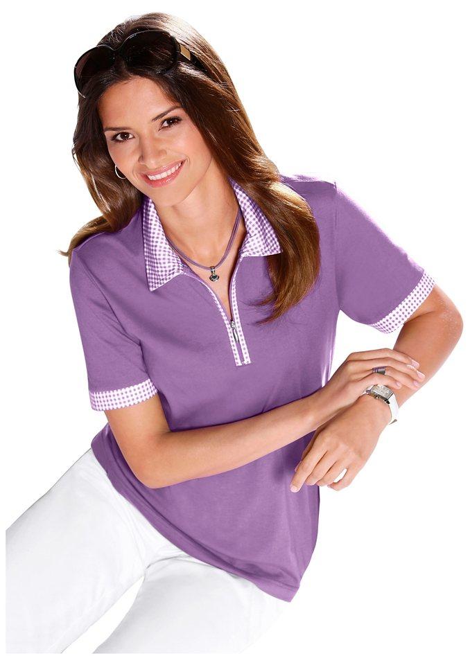 Shirt in lavendel