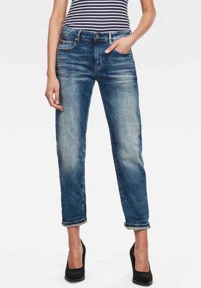 G-Star RAW Boyfriend-Jeans »Kate Boyfriend« mit authentischen Used Effekten