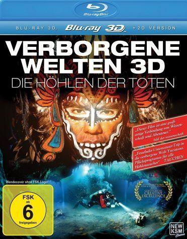 Blu-ray »Verborgene Welten - Die Höhlen der Toten...«