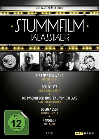 DVD »Stummfilmklassiker Edition (6 Discs)«