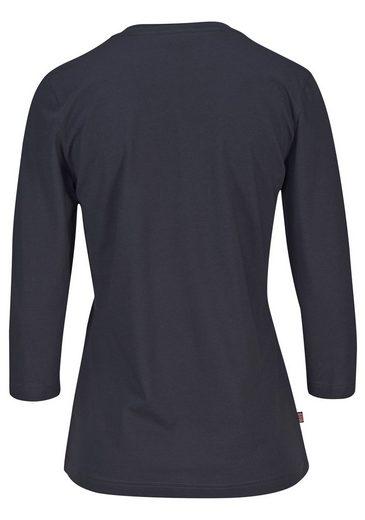 H.I.S Capripyjama mit karierter Hose & passendem Basicshirt
