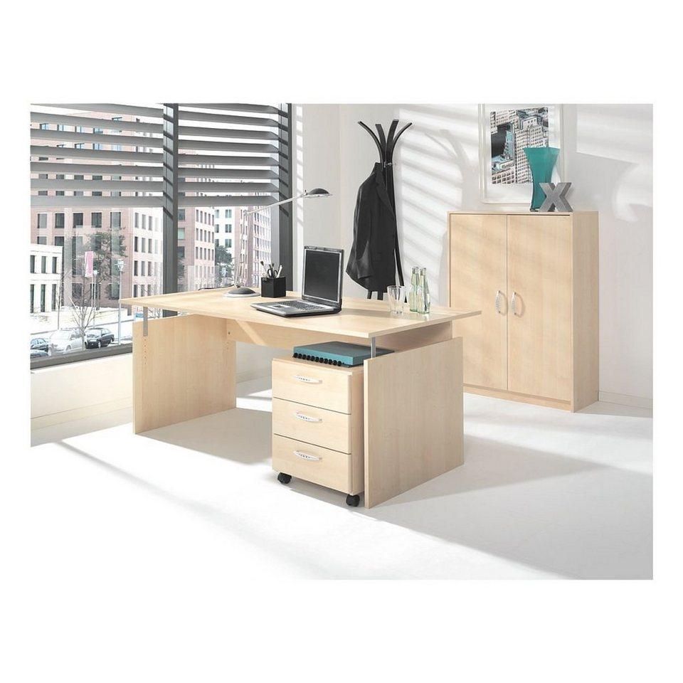 m bel set 3 teilig schreibtisch mit wangenfu adria online kaufen otto. Black Bedroom Furniture Sets. Home Design Ideas