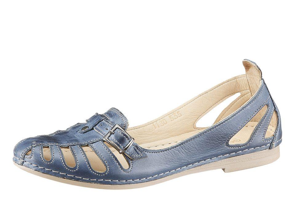 Gemini Slipper mit sommerlicher Perforation kaufen  jeansblau