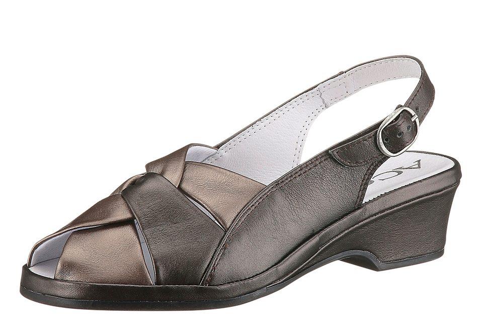 Aco Sandalette mit Perlmutt-Schimmer online kaufen  bronzefarben