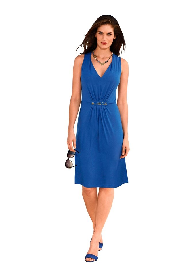 Strandkleid, Saraboni in royalblau
