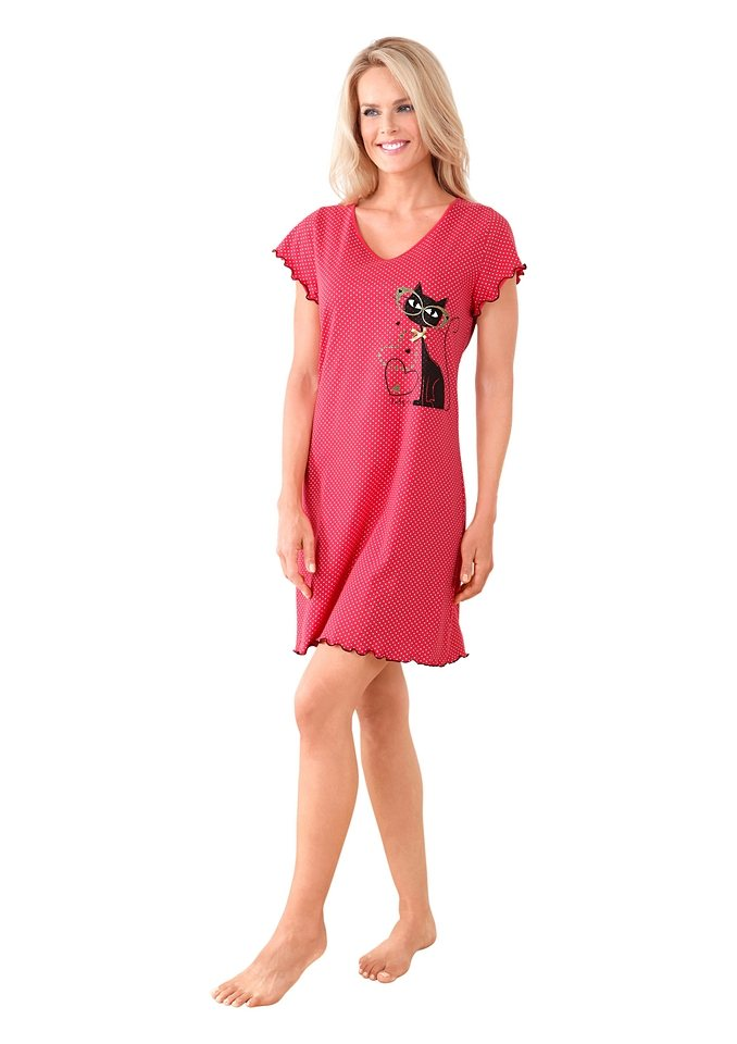 Nachthemd in rot