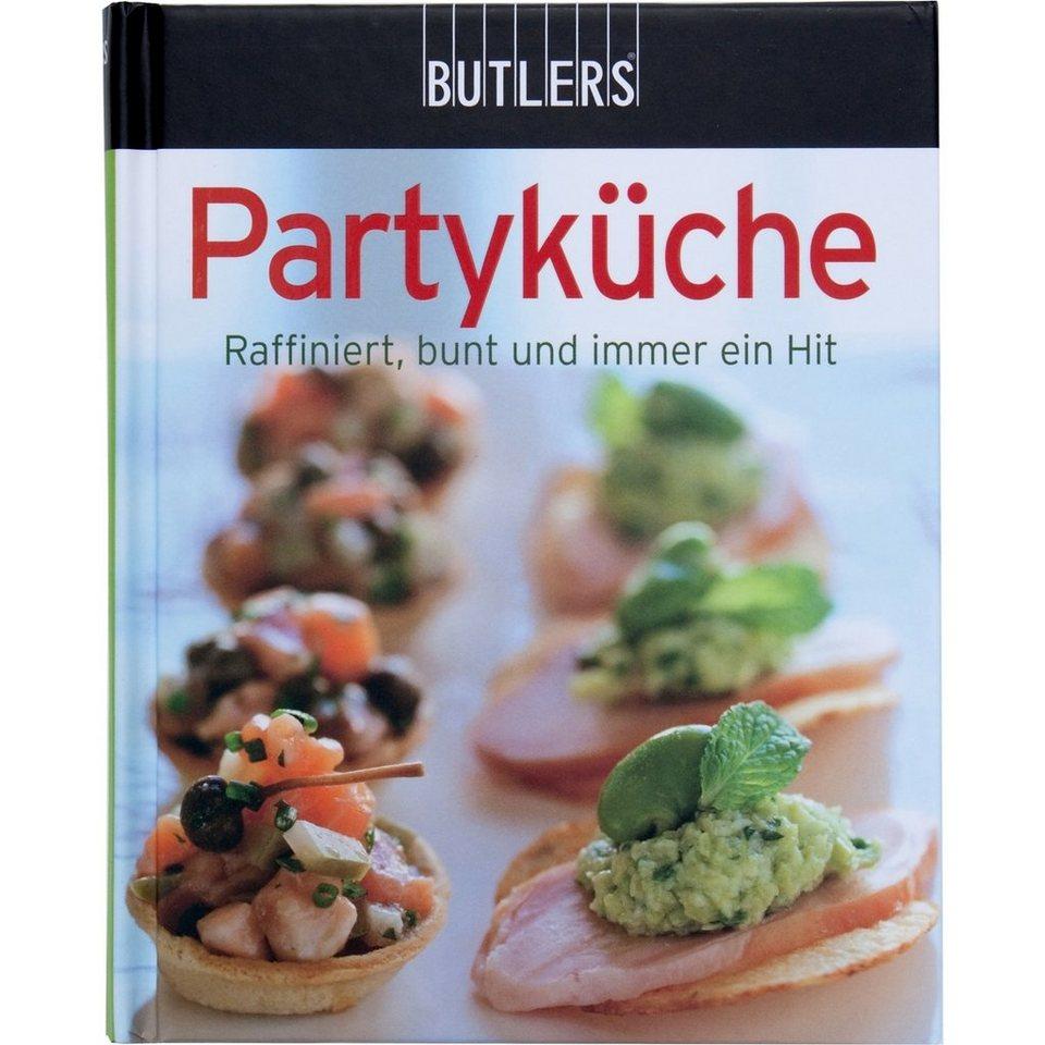 BUTLERS KOCHBUCH Mini »Partyküche« in Bunt