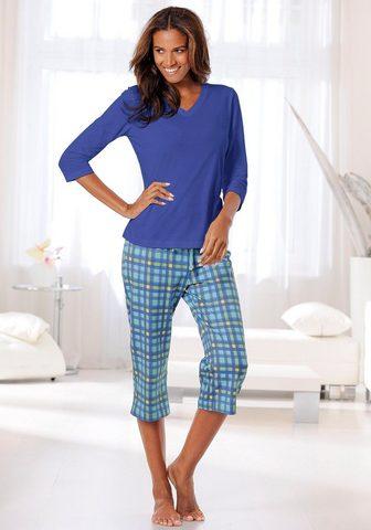 Пижама-капри