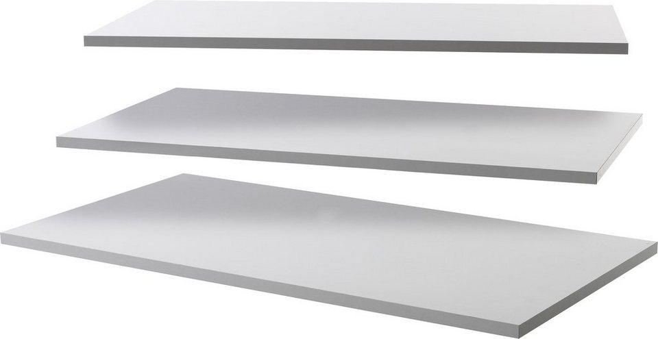 LC Einlegeböden (3 Stck.) in weiß