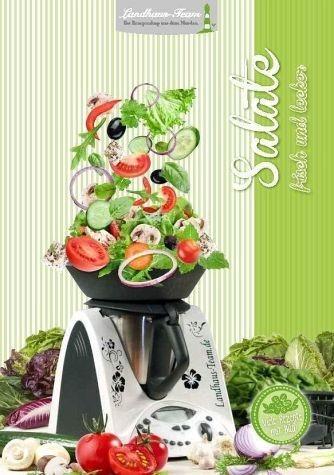 Broschiertes Buch »Salate - frisch und lecker«