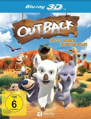 Blu-ray »Outback - Jetzt wird's richtig wild! (Blu-ray 3D)«