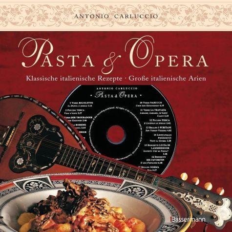 Gebundenes Buch »Pasta & Opera (m. 1 Audio-CD)«