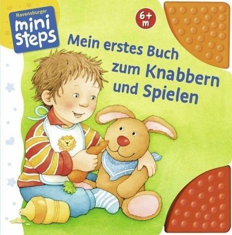 Buch mit Papp-Einband »Mein erstes Buch zum Knabbern und Spielen«