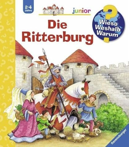 Buch mit Papp-Einband »Die Ritterburg / Wieso? Weshalb? Warum? Junior...«