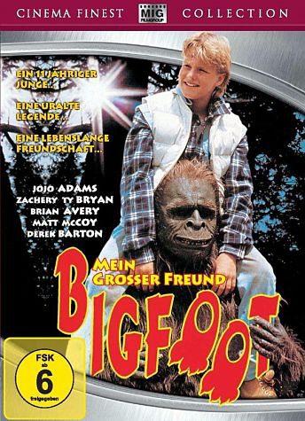 DVD »Mein großer Freund Bigfoot«