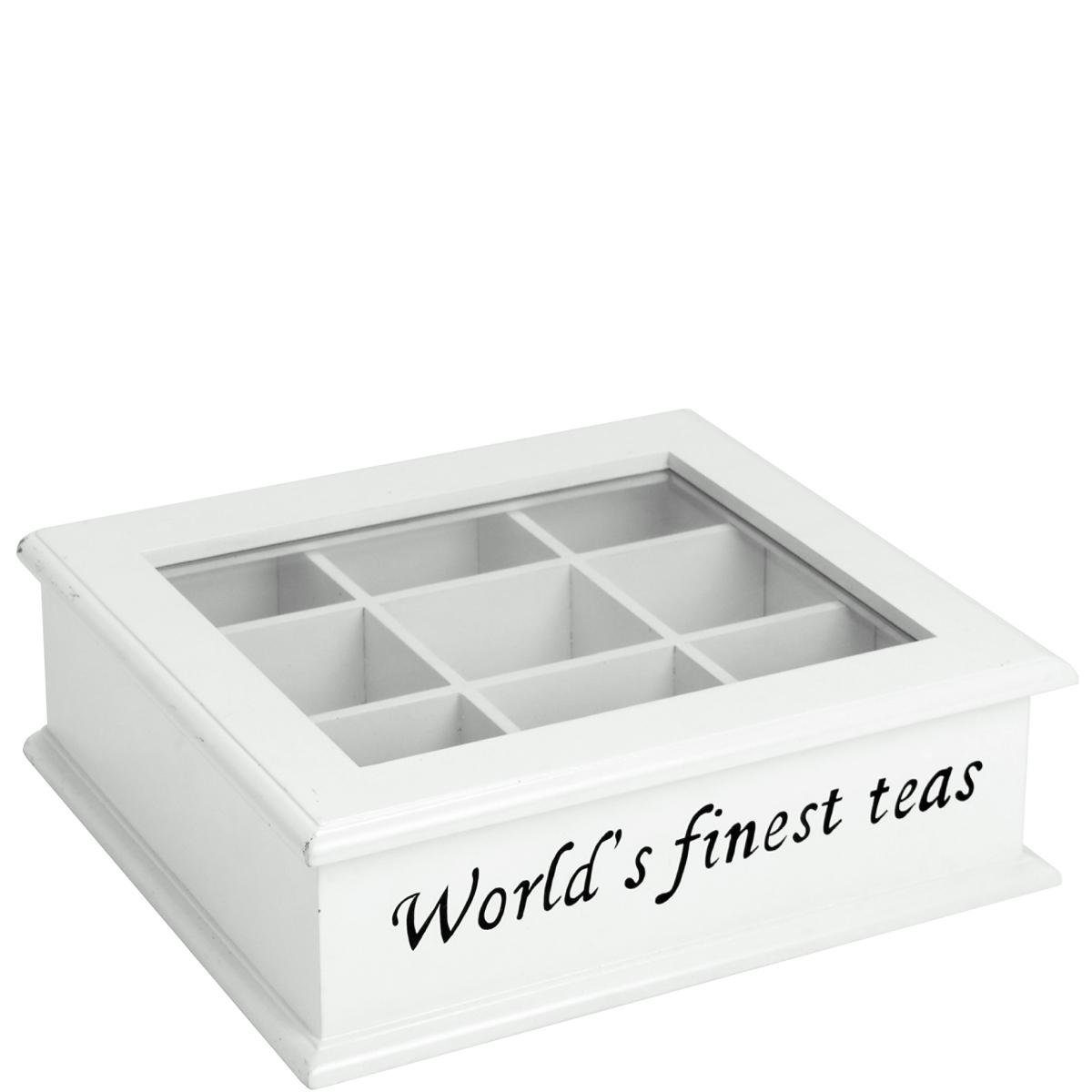 BUTLERS CAMPAGNE »Teedose ''The World's finest tea''«