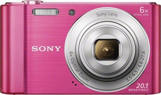 Digitalkameras - Sony »Cyber shot DSC W810« Kompaktkamera (20,1 MP, 6x opt. Zoom, Gesichtserkennung, Smile Detection)  - Onlineshop OTTO
