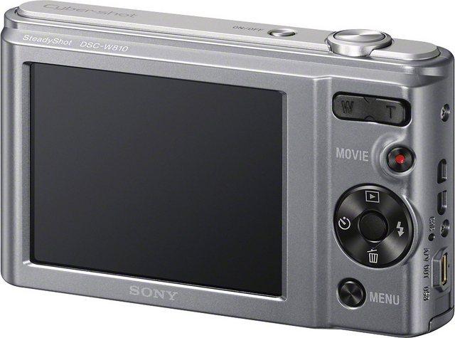 Digitalkameras - Sony »DSC W810« Kompaktkamera (20,1 MP, 6x opt. Zoom, Gesichtserkennungstechnologie für bis zu 8 Gesichter (Kontrast, Helligkeit, Farbe)  - Onlineshop OTTO