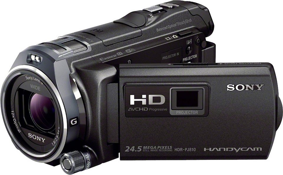 sony hdr pj810 handycam 1080p full hd camcorder. Black Bedroom Furniture Sets. Home Design Ideas