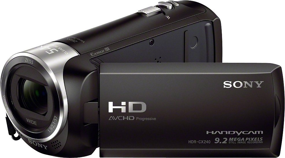 Camcorder - Sony »HDR CX240E« Camcorder (Full HD, 27x opt. Zoom, Composite Video Ausgang)  - Onlineshop OTTO