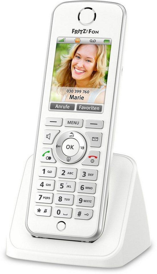 AVM DECT-Telefon »FRITZ!Fon C4« in Weiß